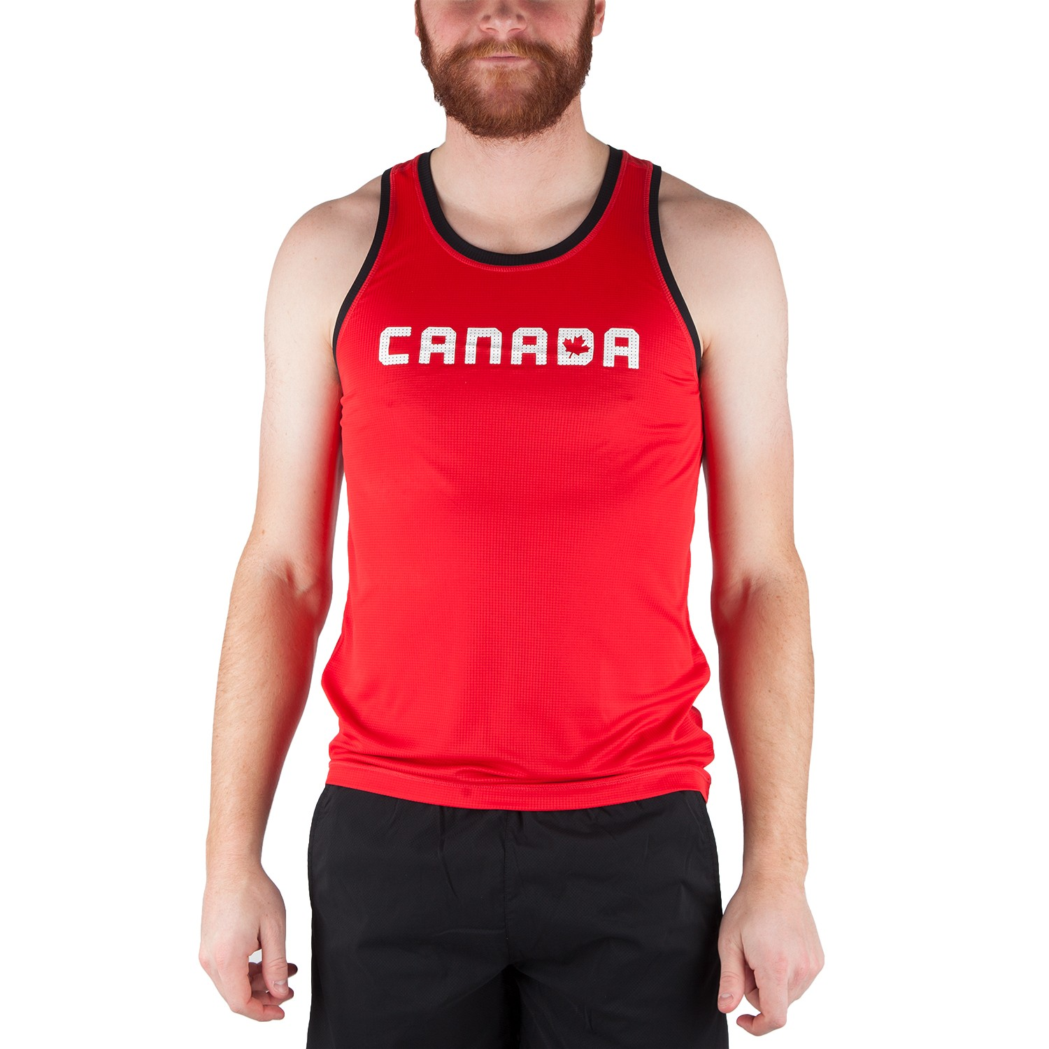 Running Room Men's Color Block Run Singlet