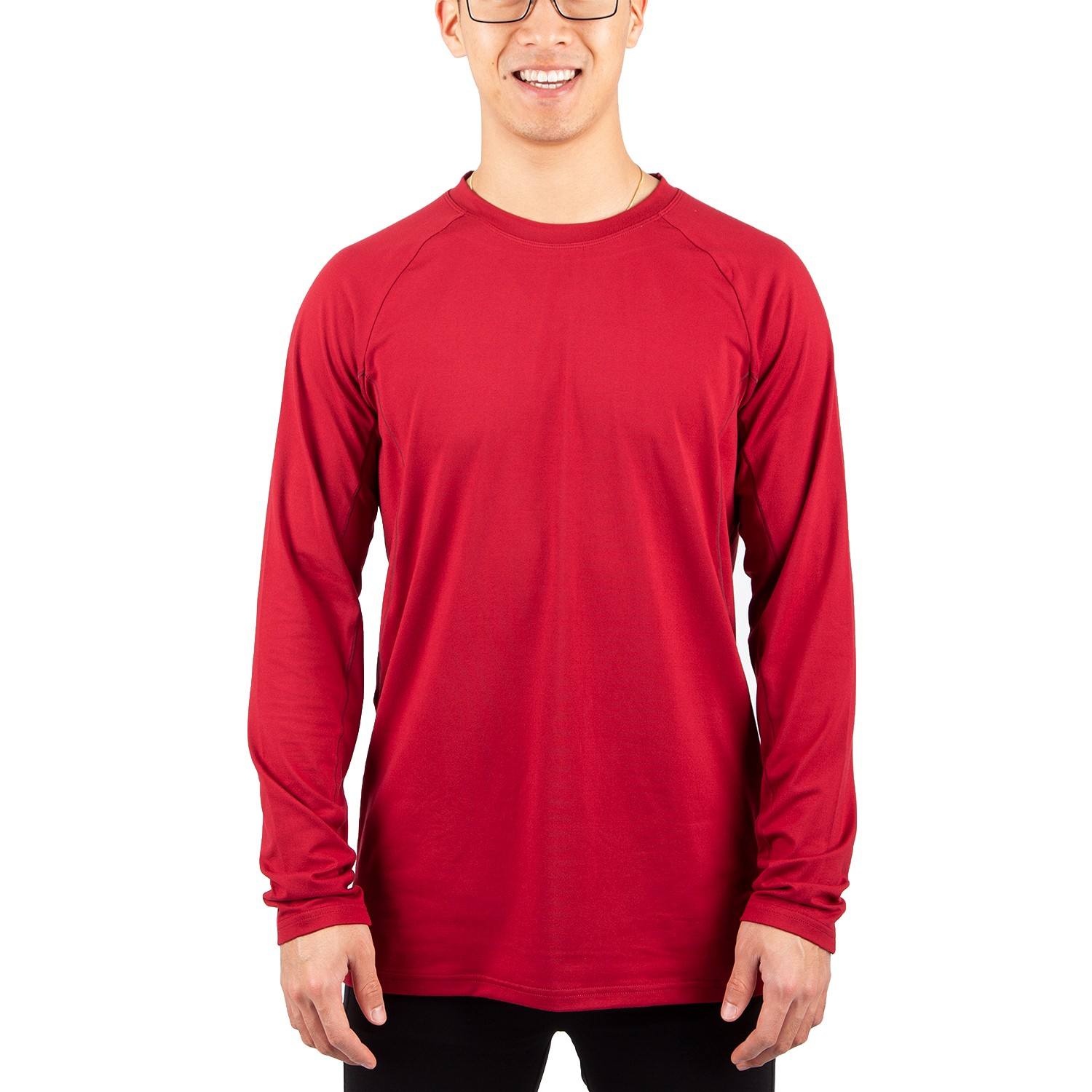 Running Room Men's Long Sleeve Crew Top