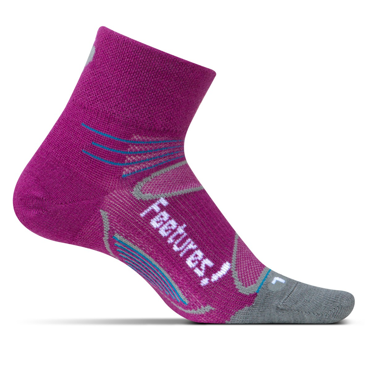 Feetures Elite Merino+ Ultra-Light Quarter - MERINO+ UL Q