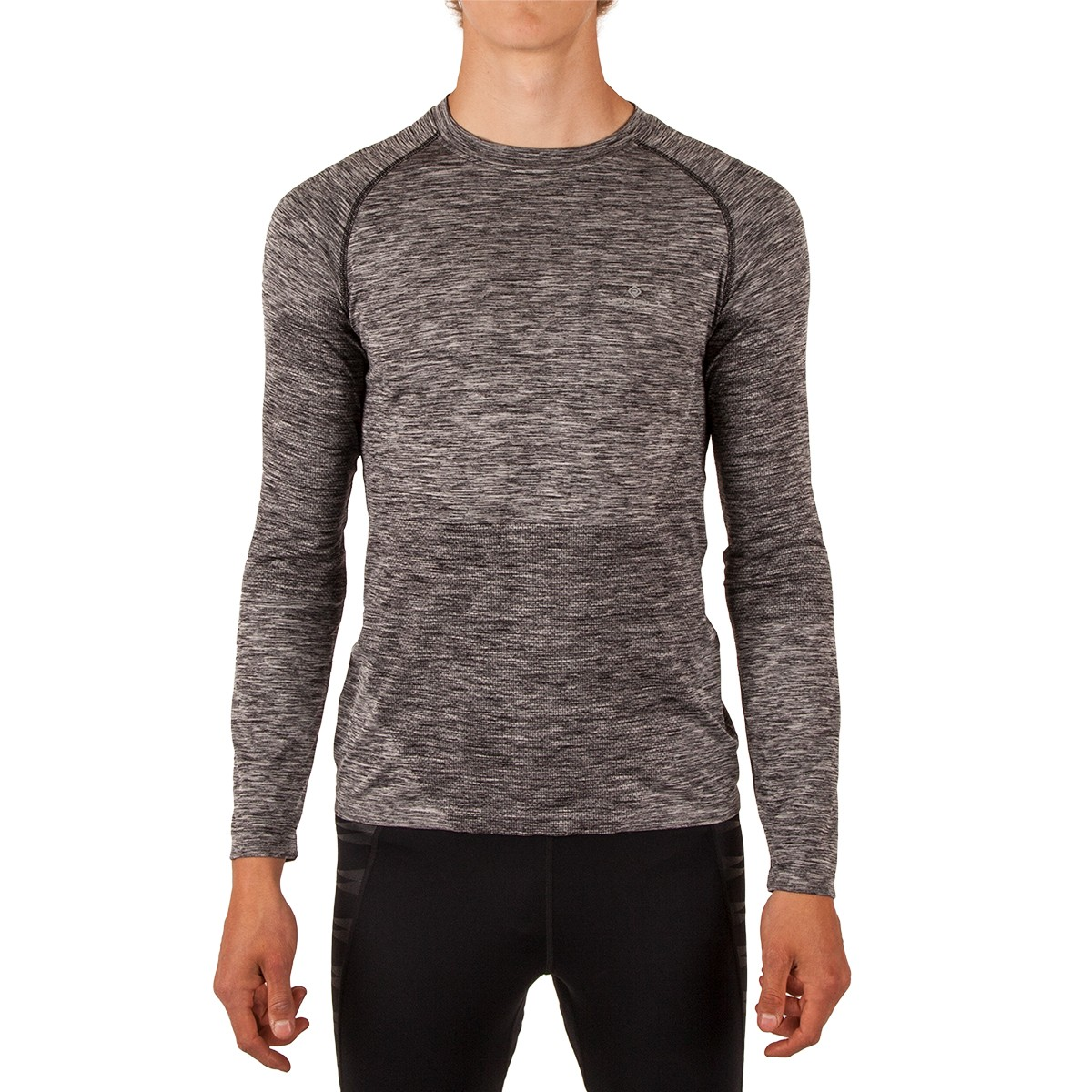 Ronhill Men's Advance Space-Dye Long Sleeve Tee
